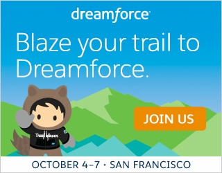 Dreamforce. Join the innovation at the world's largest software conference. October 4-7, 2016 | San Francisco, CA. Register Now.