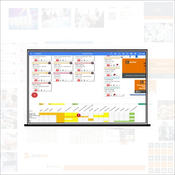 Leankor Platform Xpanded Workspace