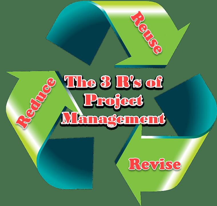Project Management Rs Reduce Reuse Revise
