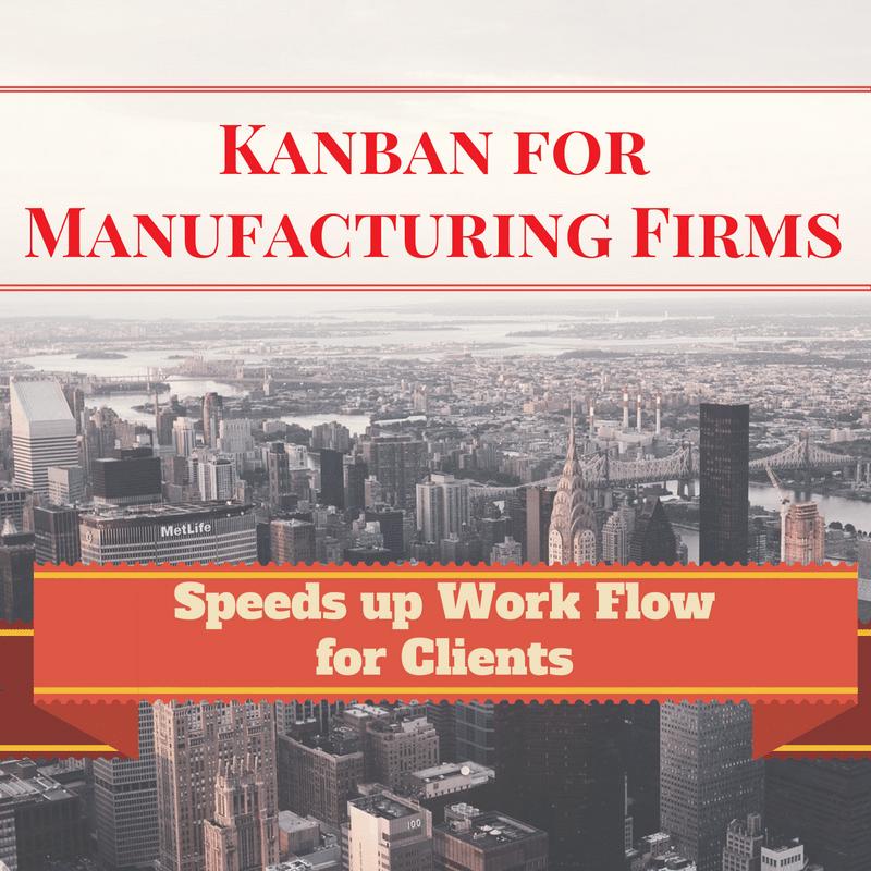 Kanban for Manufacturing Firms