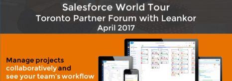 Leankor CEO Speaks at Salesforce World Tour Partner Panel