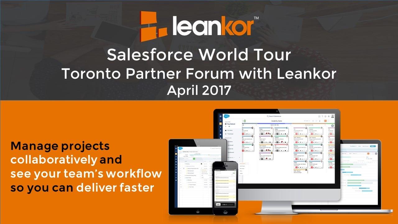 Salesforce World Tour Leankor Panel