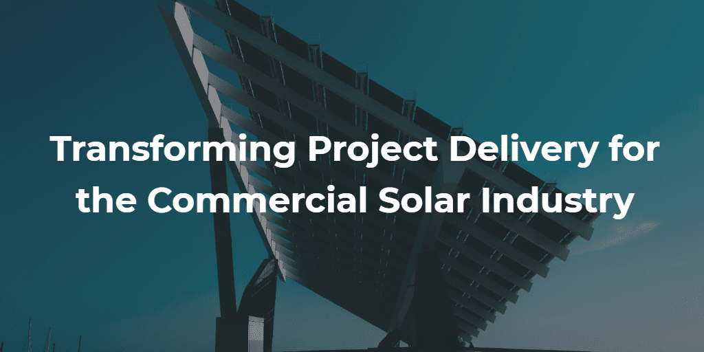Solar Array Project Delivery